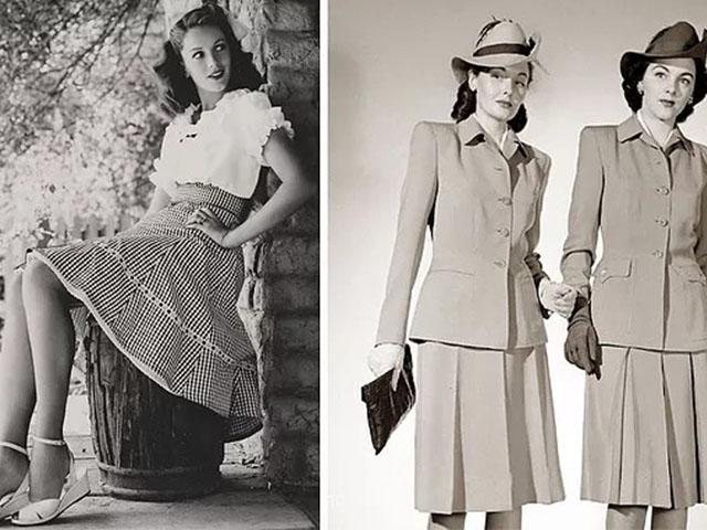 Мода 40-х в кино. Мода и кино