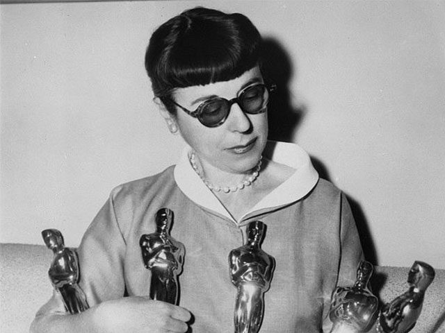 Художница по костюмам Эдит Хэд. Мода 50-х